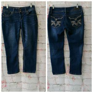 Hydraulic Bailey Low Rise Capri Jeans